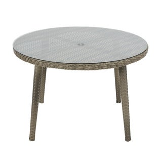 Madison Park Dana Grey Outdoor Round Table