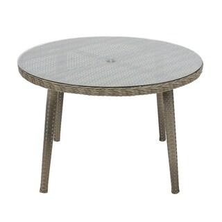 Madison Park Dana Grey Outdoor Round Table