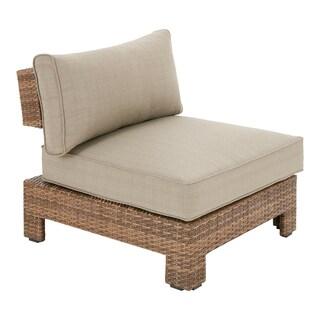 INK+IVY Bali Mocha/ Light Grey Outdoor UV Resistant Lounge