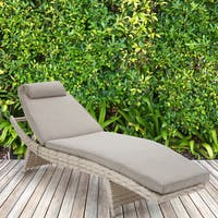INK+IVY Kelsey Sand Outdoor Chaise