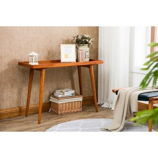 Porthos Home Amber Pine Console Table