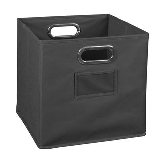 Niche Cubo Foldable Fabric Storage Bin- Grey