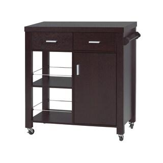 Brassex 11440 kitchen Cart W/ Castors