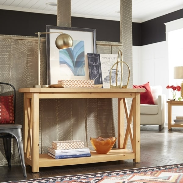 15 Entrance Hall Table Styles To Marvel At: Shop Country Lodge Console Table