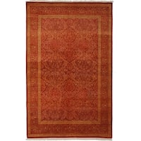 """Jalazah Hand Knotted Area Rug - 4'3"""" X 6'7"""""""