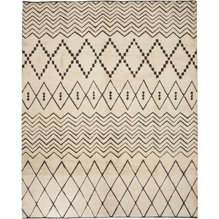 """An Ruwja Hand Knotted Area Rug (8'3"""" X 10')"""