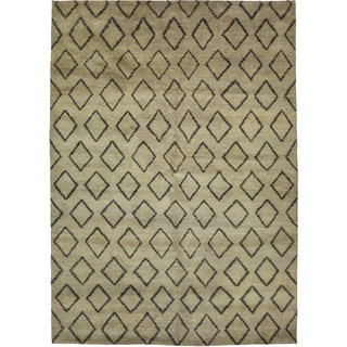 "Hudschil Hand Knotted Area Rug (6'4"" X 8'10"")"