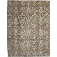 Falluqubah Hand-knotted Area Rug - 9'1 x 12'1
