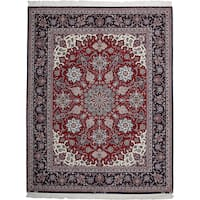 """Hotawf Hand Knotted Area Rug - 6'6"""" X 8'4"""""""