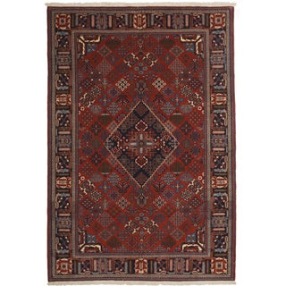 "Qardazeh Hand Knotted Area Rug - 5'7"" x 8'1"""