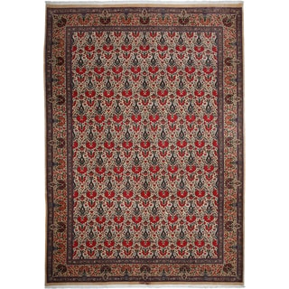 Ghoum Hand-knotted Multicolor Wool Area Rug (8'2 x 11'3)
