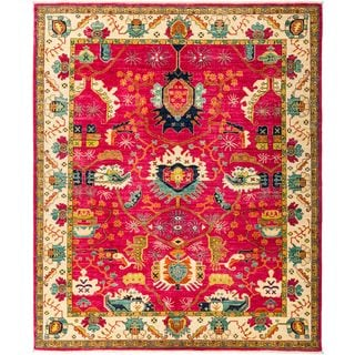 "Latawrah Hand Knotted Area Rug (8'2"" X 9'10"")"