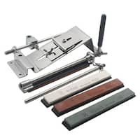 Professional Knife Sharpener With 4 Stones