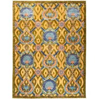 Genajil Hand-Knotted Area Rug (8'1 x 10'5) - Multi