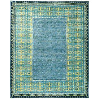 "Jablera Hand Knotted Area Rug (7'10"" X 9'8"")"