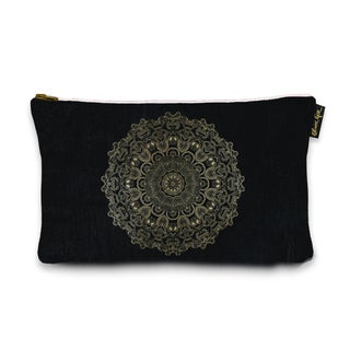 Oliver Gal 'Paisley Mandala' Pouch