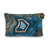 Oliver Gal 'Dreaming About You Geode' Pouch