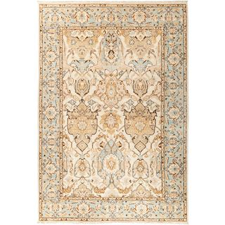 """Aswazar Hand Knotted Area Rug - 6' x 8'10"""""""