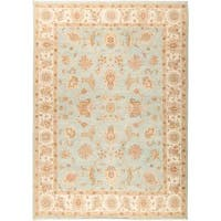 "Rafharout Hand Knotted Area Rug (7' X 9'8"")"