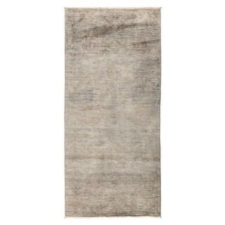 """Overdyed Dahuyah Hand Knotted Area Rug (4'1"""" X 8'8"""")"""
