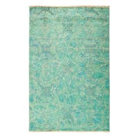 """Overdyed Marila Hand Knotted Area Rug (3'10"""" X 5'10"""")"""