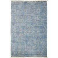 "Overdyed Senultah Hand Knotted Area Rug (4'2"" X 6'4"")"