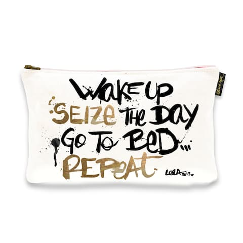 Oliver Gal 'Seize The Day' Pouch