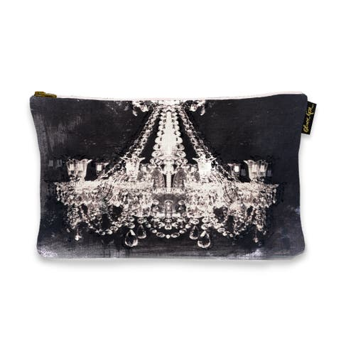 Oliver Gal 'Dramatic Entrance Night' Pouch