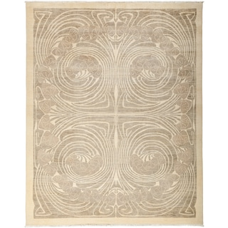 """Mosumer Hand Knotted Area Rug (8'1"""" X 10'1"""")"""