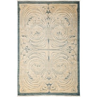 "Denisalih Hand Knotted Area Rug (5'1"" X 7'8"")"