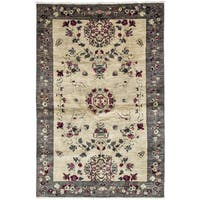 """Diblah Hand Knotted Area Rug - 4'10"""" X 7'9"""""""