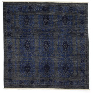 """Nurhaca Hand Knotted Area Rug (6'1"""" X 6'1"""")"""