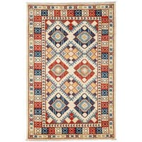"Pinaluk Hand Knotted Area Rug - 4'10"" X 7'6"""