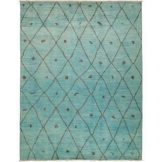 "Abisan Hand Knotted Area Rug (7'10"" X 10'2"")"