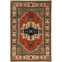 """Maseir Hand Knotted Area Rug (6'4"""" X 9'1"""")"""