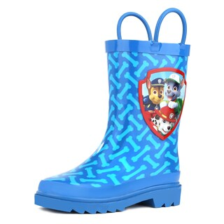 Paw Patrol Boys Blue Rain Boots (Toddler / Little Kids)