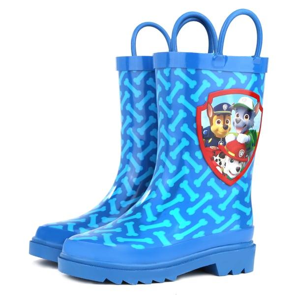 Shop Paw Patrol Boys Blue Rain Boots