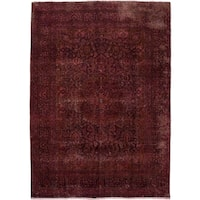 Distressed Antiroh Hand Knotted Area Rug
