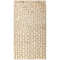 Milahar Hand Knotted Area Rug - 4' X 7'1""
