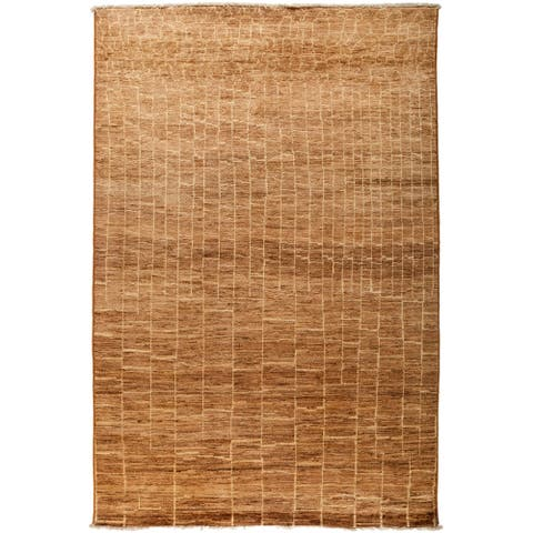 """Denikent Hand Knotted Area Rug - 6' x 8'10"""""""