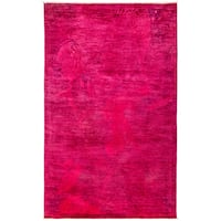 Overdyed Domayla Hand Knotted Area Rug