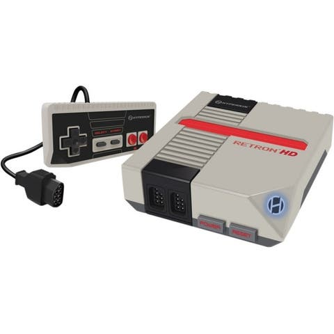 HYPERKIN RetroN 1 HD Gaming Console for NES (Gray)