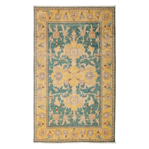 """Dendemein Hand Knotted Area Rug - 5'1"""" x 8'"""