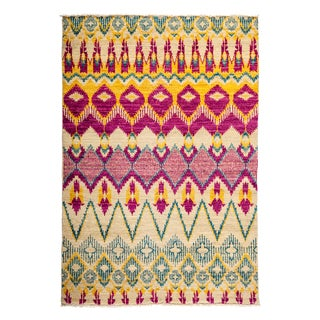 """Rezvadaj Hand Knotted Area Rug (4'3"""" X 6'1"""")"""