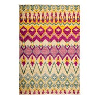"Rezvadaj Hand Knotted Area Rug (4'3"" X 6'1"")"