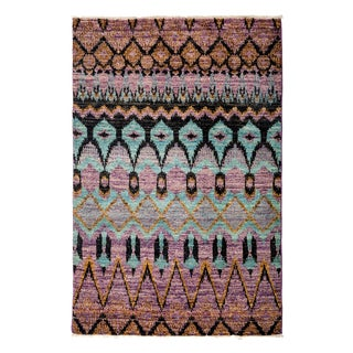 """Najasit Hand Knotted Area Rug (4'1"""" X 6'2"""")"""