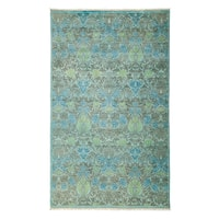 "Overdyed Uqaybah Hand Knotted Area Rug (5'3"" X 8'6"")"