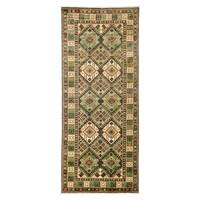 Ihnasyoun Hand Knotted Area Rug - 4' X 9'5""