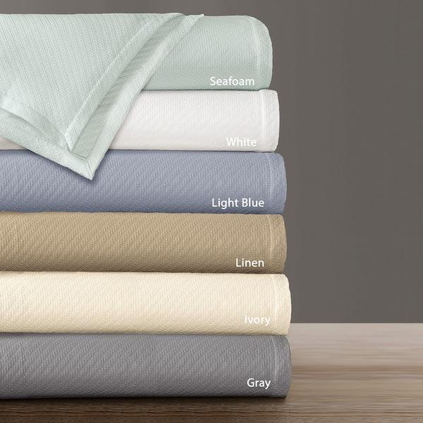 Hampton Hill Supreme Liquid Cotton Twill Weave Blanket