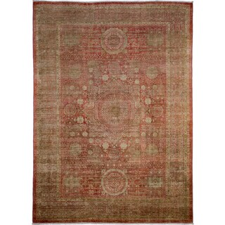 Qorveveh Hand-knotted Area Rug (6'9 x 9'5)